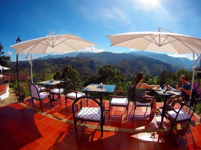 immagine SALENTO,  HOTEL EL MIRADOR DEL COCORA