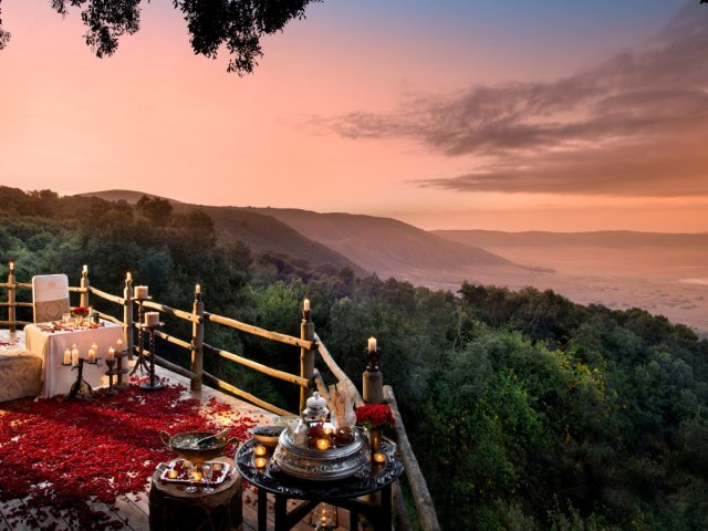 immagine NGORONGORO CONSERVATION AREA, ANDBEYOND NGORONGORO CRATER LODGE