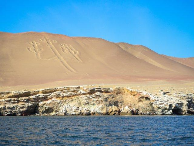 Estensione mare. Dune e deserto