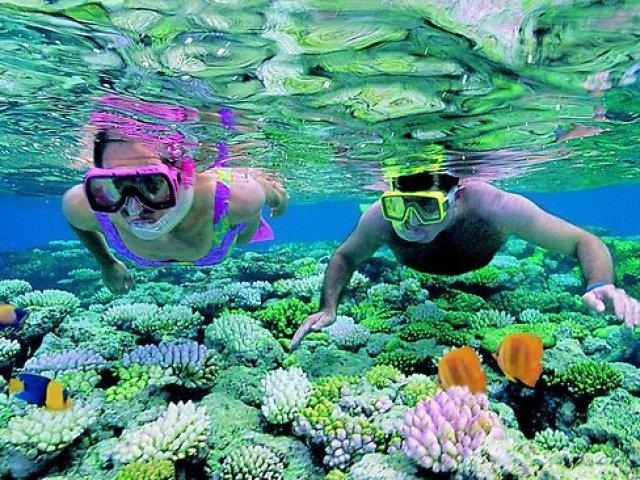 Estensione mare nella splendida isola di Phu Quoc