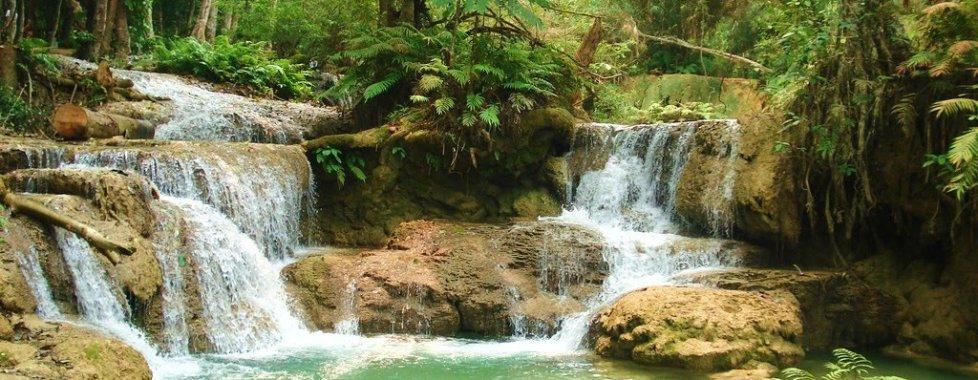 cascate in Laos