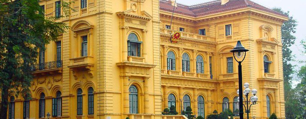Hanoi , Palaix de France