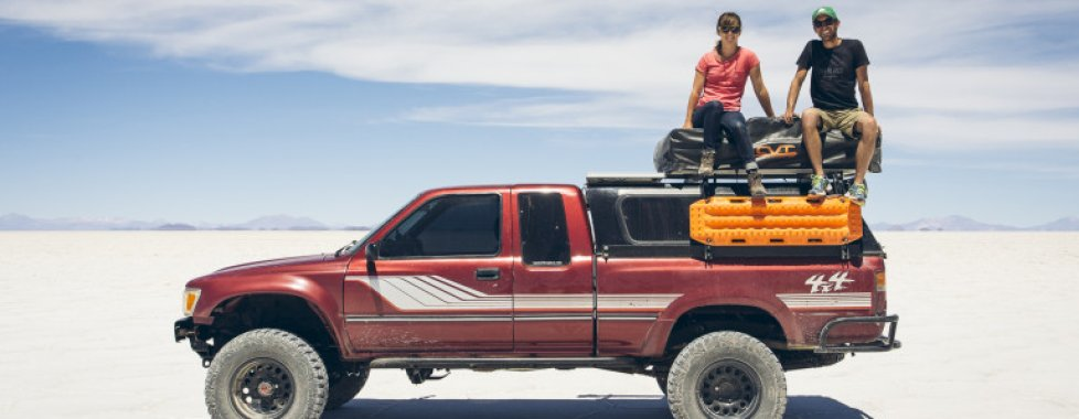Salar in jeep