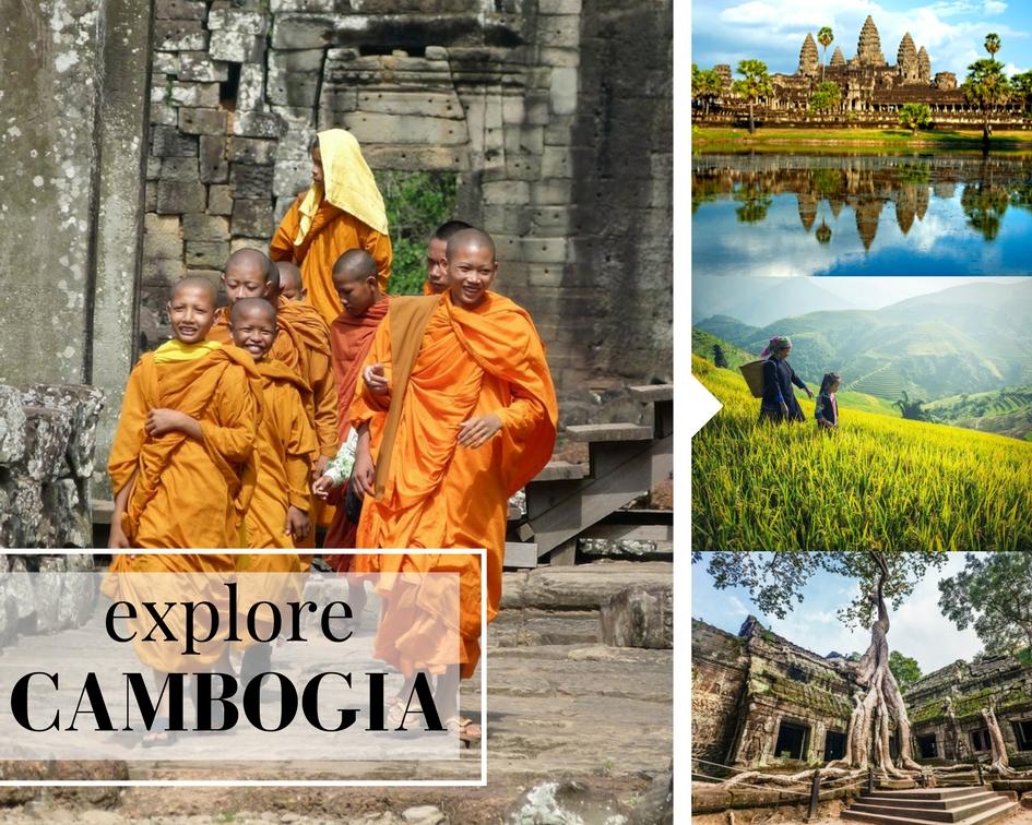 Explore Cambogia